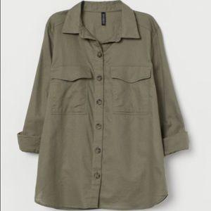 3/$25 🎁 NWT H&M L/S Button Down Blouse Shirt
